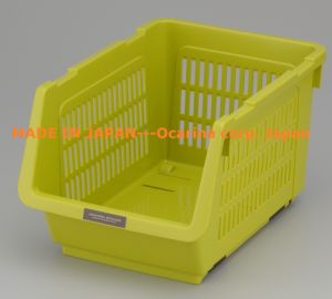 Plastic Food Storage Container For Storing Potato Onion Vegetable Green  (Model. 1260)