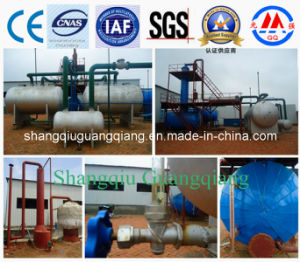 Used Oil to Diesel Refinery Distillation Plant for Sale