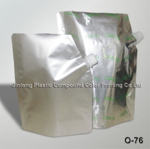 Standing Aluminium Spout Pouch pictures & photos