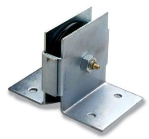 "Bracket Pulley / Cast Iron Through Wall Pulley-3 1/2"" Poultry Euipment Components pictures & photos"