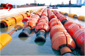 Slush Rubber Pipe with Dredger
