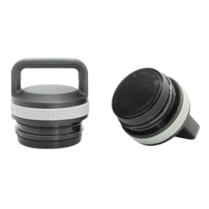 Stainless Steel Vacuum Sports Bottle Black 600ml pictures & photos