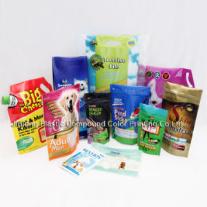 Stand up Pet Food Bag with Zipper pictures & photos