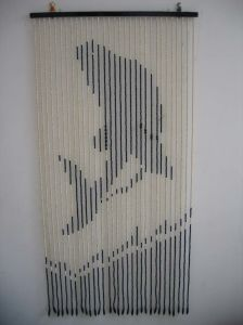 Wood Beaded Door Curtains