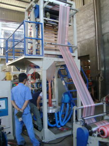 Double Color Strip Film Blowing Machine (SJDC-45) pictures & photos