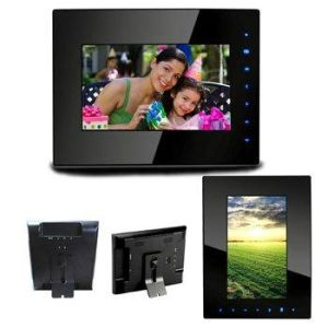 7 Inch Touch Button Digital Photo Frame (DPF7603)