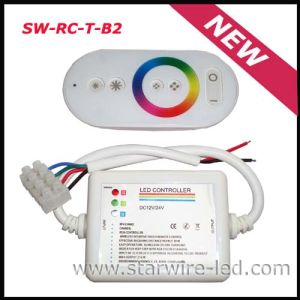 Rainbow RGB Remote LED Controller/Dimmer (SW-RC-T-B1) pictures & photos