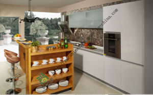 Custom Made Solid Wood Kitchen Cabinets (ZS-151) pictures & photos