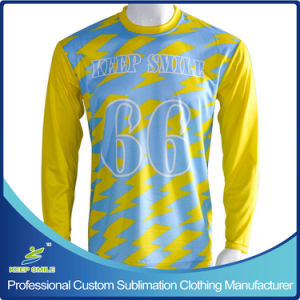 Customized Long Sleeve Lacrosse Shooter for Boys with Sublimatoin pictures & photos