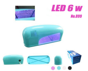 UV Gel Cure Curing Lamp LED Nail Dryer Potable For Shellac (899)