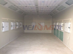 Wld6000 Infrared Lamp Paint Booth with Luxury Front Door pictures & photos