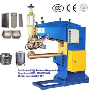 Manual Type Stainless Mesh Filter Seam Welding Machine pictures & photos