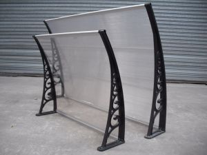 Windows Polycarbonate Canopy PC Sun Awning