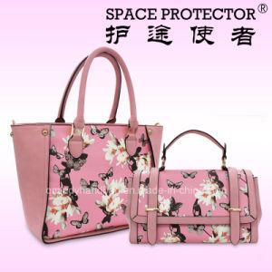 Pink Flower Lady Handbag Beautiful