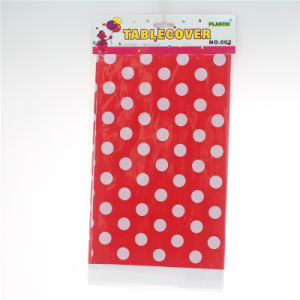 Event Party Supplies Red Disposable Tablecloth