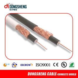 Lin an Cable Manfacturer for Coaxial Cable RG6 Tri-Shield with UL RoHS pictures & photos