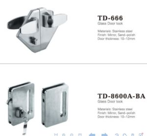 Glass Accessories Stainless Steel Door Lock Glass Hinge Td-8600A-13A pictures & photos