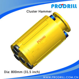 Wholesale Long Serve Life DTH Cluster Hammer for Piling pictures & photos