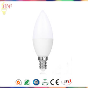 Daylight LED E14/E17 Gold C30 Candle Bulb for 4W/6W/8W/10W pictures & photos