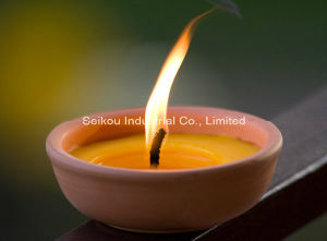 Classic Terracotta Pot Citronella Candle (FT8098)