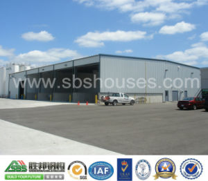New Design for Prefabricated Steel Structure Hangar Building