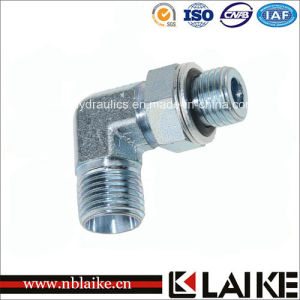 (1CH9-OG) 90 Degree Hydraulic Pipe Adapter with High Pressure