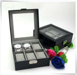Factory Direct Selling PU Leather Watch Box