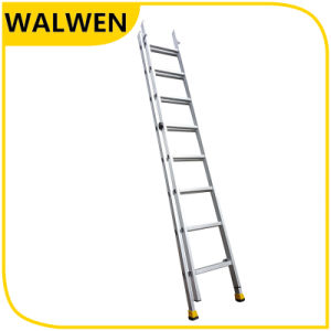 Hot Sale Strong Movable Flexible Telescopic 2*8 Step Aluminum Ladder pictures & photos