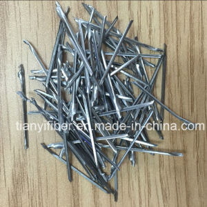 High Tensile Milling Steel Ingot Type Steel Fiber for Concrete pictures & photos