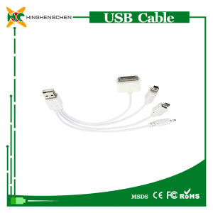 Wholesale Multi-Function USB Charger Cable 4 in 1 USB Cable pictures & photos