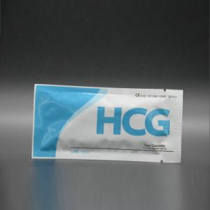 Diagnostic HCG Cassette Pregnancy Test pictures & photos