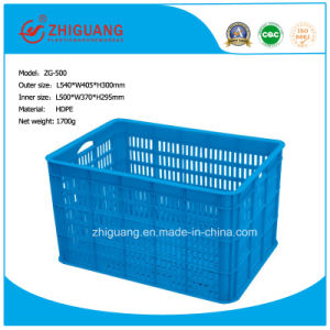 Portable Plastic Basket for Restaurant/Fruit and Vegetable Move and Operate pictures & photos