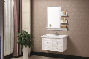 Bathroom Furinture Solid Wood Wall Counted Cabinet
