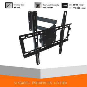 Adjustable Full Motion TV Wall Mount Bracket TV Rack pictures & photos