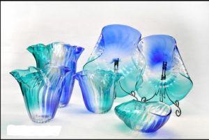 Multicolour Murano Glass Bowls for Table Decoration Art