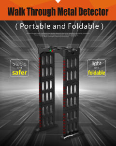 Portablewalk Through Metal Detector pictures & photos
