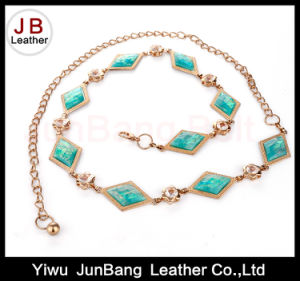 Chain Belt with Metal and Turquoise for Dresses pictures & photos