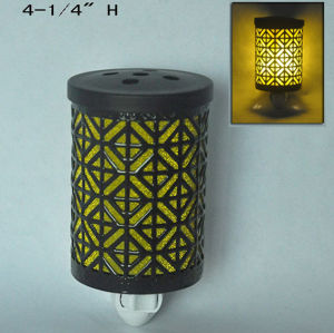 Electric Metal Plug in Night Light Warmer - 15CE00888