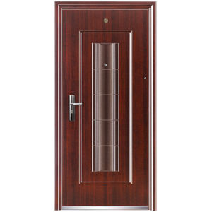Cheap Unique Design Entry Doors with Sidelights (M-S57)