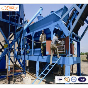 300ton/H Mobile Concrete Mixing Plant for Road Construction