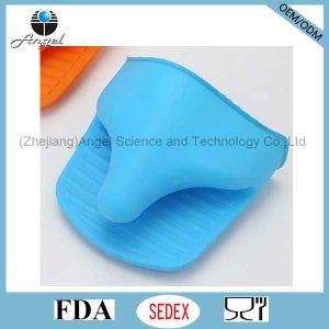 Kitchen Silicone Oven Glove Silicone Rubber Glove Sg04