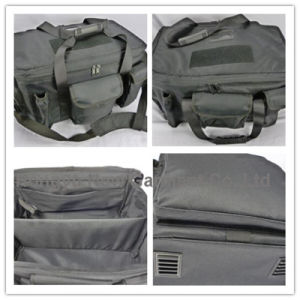 Police Black Big Size Camping Handbag pictures & photos