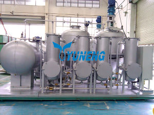 High Efficiency Waste Tire Pyrolysis Oil Recycling Machine pictures & photos