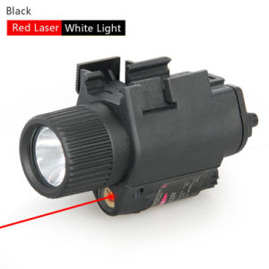 M6 Tactical LED Flashlight with Red Laser Sight Cl15-0003 pictures & photos