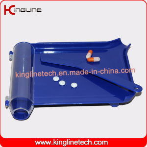 Plastic Alloting Medicine Plate Pill Box (KL-9036) pictures & photos