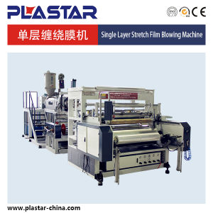 High Output Single-Layer Stretch Film Machine in China