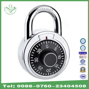 50mm Stainless Steel Round Dial Combination Padlock (1500SS)