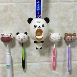 Kids Lovely Animal Shape Toothbrush Holder Wall Mount