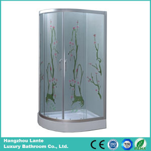 5mm Fiber Printed Glass Shower Cabin (LTS-825M) pictures & photos