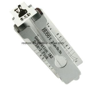 China Original Lishi Hu66 2 in 1 Locksmith Tool Lock Tool